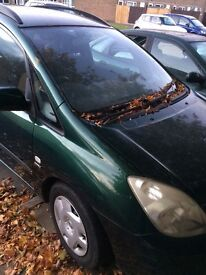 Toyota Corolla Verso 1.6 engine for sale. Good engine. Gear box not working.