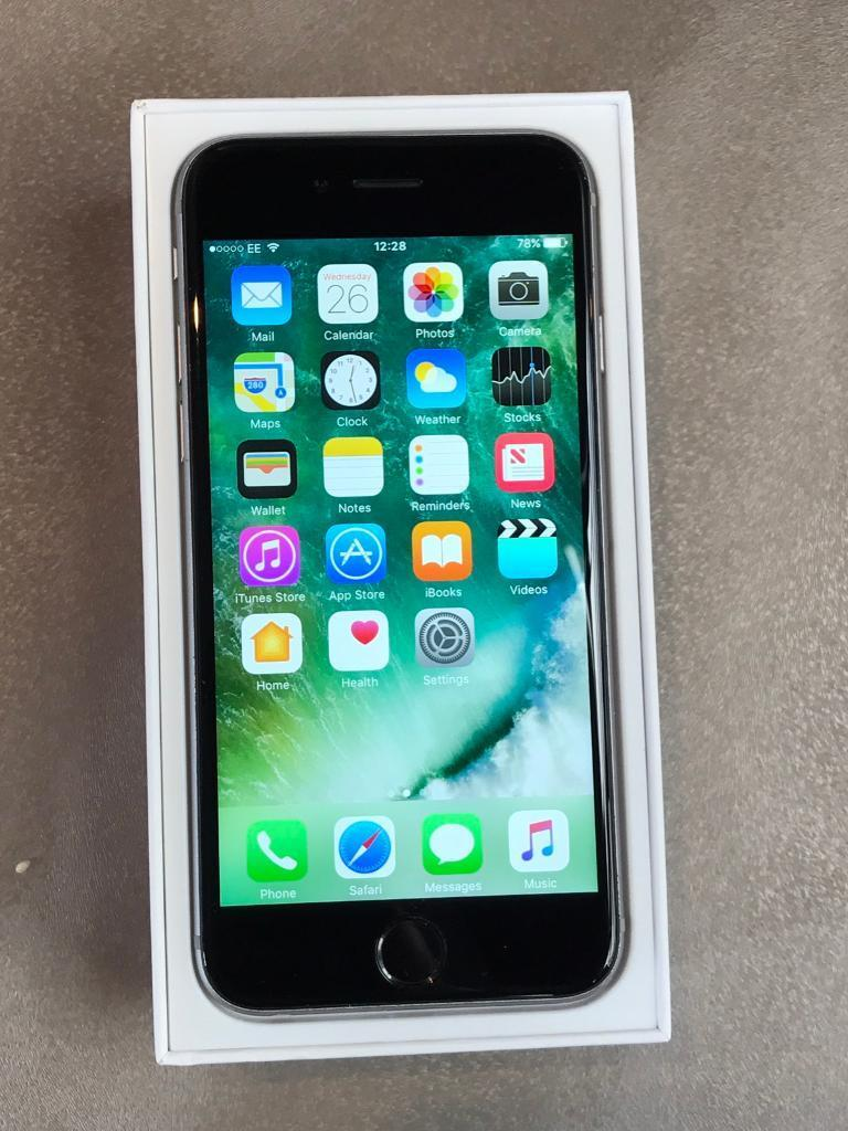 iPhone 6s grey 64gb unlockedin Winkfield, BerkshireGumtree - iPhone 6s grey 64gb Unlocked to any network.Perfect working order and have some using mark around the edge and the back.Comes fully box with charger and manual