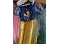 Snow White dress age 5/7