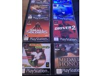 Job lot playstation 1 game's