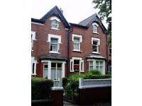 Furnished double room available in professional shared house, LS7.