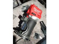 Milwaukee M18 volt Router Lithium-Ion Brushless Cordless Compact Tool- 2020