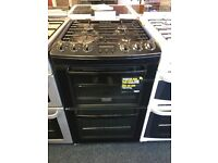 ZANUSSI 55CM ALL GAS COOKER WITH LID