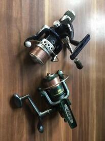 Fishing reels x2