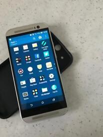 HTC ONE M8 Unlocked/ open network Silver