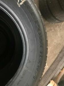 P215/70R16 KHUMO ICE POWER KW21 SET OF 4 FAIR CONDITION