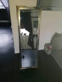 Large freestanding mirror