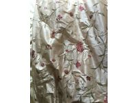 Oyster Silk curtains