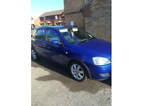 05 Vauxhall Corsa Diesel low milage for age