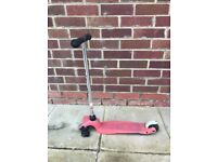 broken scooter for part and repair