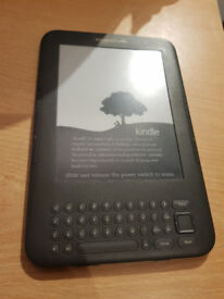Kindle 3rd Generation 4GB 3G