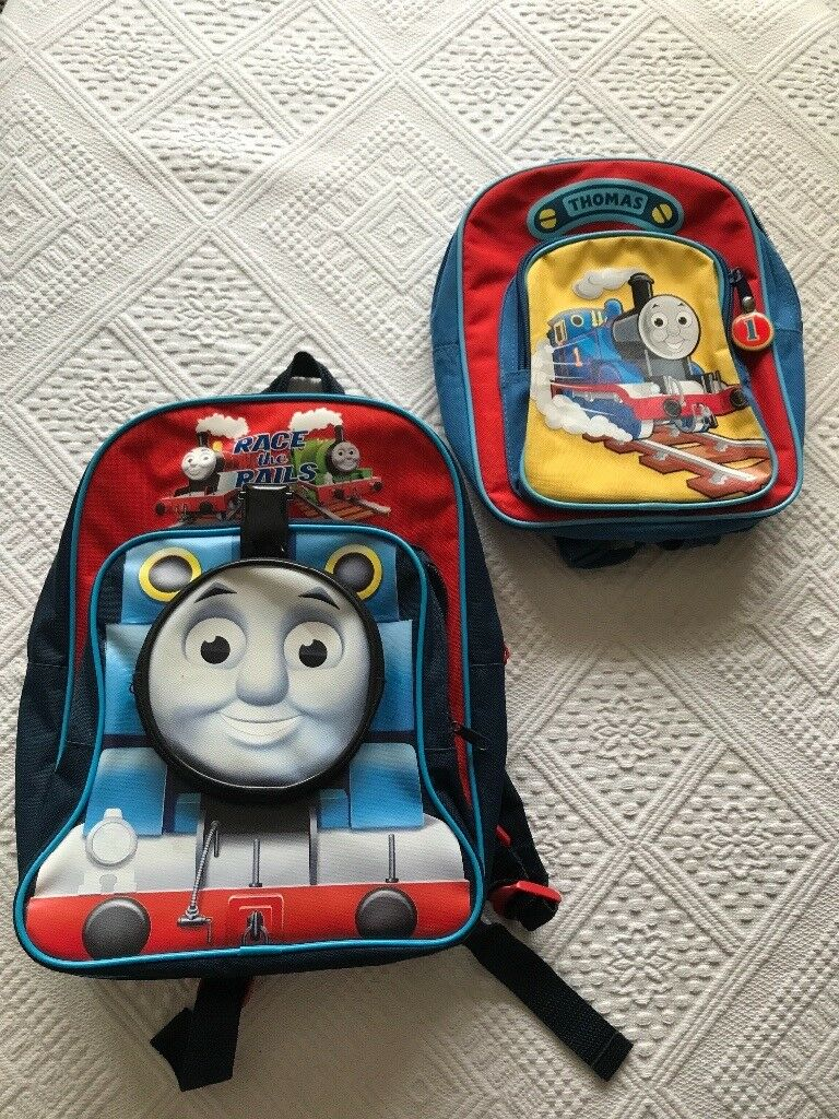 Thomas the Tank Engine backpacks x 2