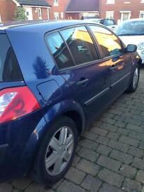 Renault Megane 04 plate