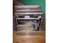 40+ vinyl records