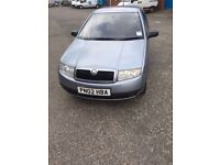 Skoda fabia with low milage and Full mot!!