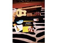 New Soprano Ukulele, New Unused Snark Tuner,New Dummy's book with CD, New Notecracker reference