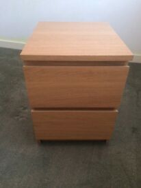 Two bedside tables