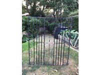 pair of 4ft iron gates