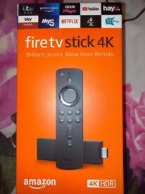 Fire TV Stick 4K Alexa VoiceRemote