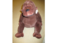 New Absalon Gorilla Cuddly Toy - 18 inch Tall - With Tags