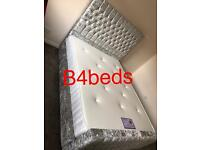 Double King Crush Velvet high Head Princes Bed with Orthopaedic/Memory Foam mattress