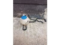 vw golf mk 4 thermostat housing and header tank