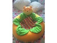 Mothercare - Sunshine Garden Cat Sit Me Up Cozy seat/ nest/ ring