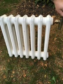 Cast iron radiator 430mm x 440mm x depth of 120mm