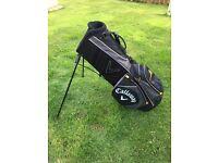 Callaway Golf Warbird Stand Bag, Male, Black/Gold