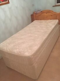2 single divan beds in a clean condition. Free for collection