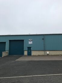 2550 sq ft Commercial Warehouse in Kirkcaldy For Sale. Immediate entry available.