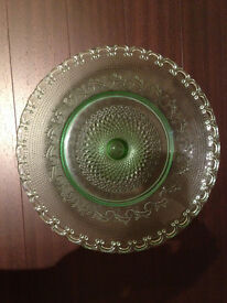 Ornate Heavyweight Fruit Bowl/Cakestand