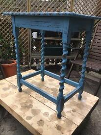 Up cycled vintage side table