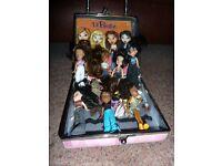 Lil Bratz Dolls and case