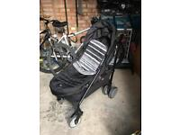 Joie stroller and footmuff
