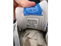 Adidas Originals ZX 750 G96718 Mens Bluebird/Runnig White/Red Casual Shoes UK 10 1/2 NEW