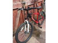 Mans lightweight front suspension mountain bike. Can deliver