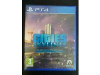 PS4 game - Cities Skylines - New
