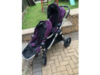 Buggy - baby jogger city select with maxi Cosi car seats