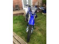 Yamaha Motocross Bike