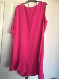 Wallis 1 sleeve dress