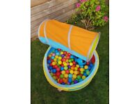 Kids Play Balls Pit & Tunnel