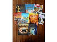 BUNDLE OF 9 ANCIENT EGYPT REFERENCE BOOKS