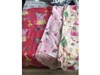 Toddler duvet covers (girls) x2