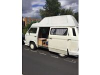 VW T25. High top Westfalia good condition, runs well and very reliable. Selling due to lack of use.
