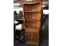 ⭐️ ERCOL ⭐️ SOLID WOOD CORNER DISPLAY UNIT - CAN DELIVER ⭐️
