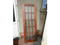 Hard Wood 15 Glass Panel Interior Door