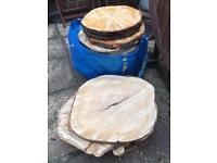 Log slices for centre pieces/ wedding etc.
