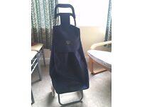 Hoppa 47L Folding Lightweight Shopping Trolley Shopping Bag