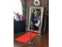 magic mirror and large love letters for hire